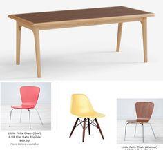 Delightful Little Felix Chair (Walnut) #NodWishlistSweeps | Land Of Nod For Christmas  2014 | Pinterest | Playrooms