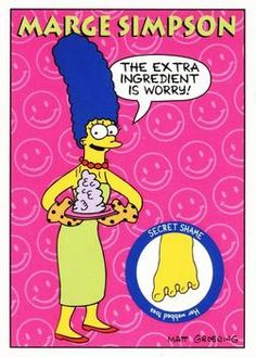 1993 SkyBox The Simpsons #S2 Marge Simpson | Trading Card Database Simpsons Drawings, Tv Funny, Watch Cartoons, Dysfunctional Family, Collector Cards, Trading Card Database, Futurama, The Simpsons, Cards