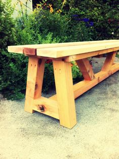diy plans to build a restoration hardware inspired provence beam dining bench