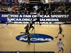 The NCAA is promoting social media platforms w/ signage during games (ncaa.org/socialmedia)...after clicking link, what do you think?  Could they do more with this page?  And wouldn't now be great time to roll out a branded Pinterest page, allowing them to tap into the passion and loyalty of college sports fans at the height of the Madness?