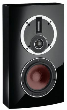 A better alternative to TV speakers, The Dali Rubicon LCR speaker delivers amazing sound quality that TV speakers just can't match. High gloss black.