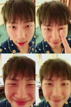Rap Monster ❤ [Japanese Official Trans Video Tweet] [BTS Message / RAP MONSTER] 楽しかった #RM #BTS #防弾少年団 \ [BTS Message / RAP MONSTER] It was fun #RM #BTS #BTS (I bet Namjoon lives in those PJs when he's got no schedule ahaha) #BTS #방탄소년단