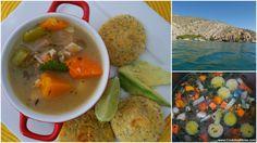 Sopa de Pescado Oriental. #MazolaPlatoSano #ad Rico y Saludable!