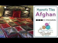 Introducing the Hypnotic Tiles Afghan by me, Mikey of The Crochet Crowd. This is using Caron Cakes Yarn featuring the Red Velvet Colour. In my design today, ...