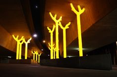 Incredible Public Art at Highway Underpass!