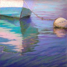 "Daily Paintworks - ""Summers End"" - Original Fine Art for Sale - © Nancy Poucher"