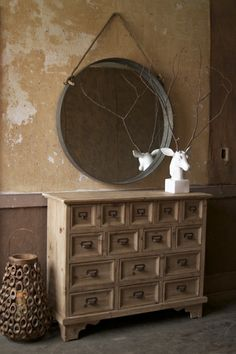 round nautical mirror $459.00
