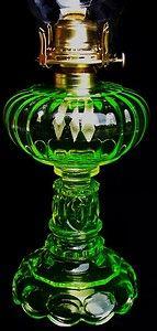 Vasaline Glass oil lamp