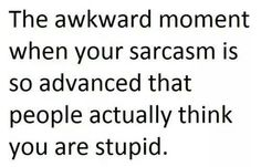 ISTJ sarcasm
