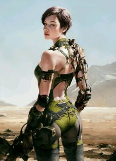 girl https://www.artstation.com/p/NEwNN Siwoo Kim concept art designer, illustrator -- Share via Artstation Android App, Artstation © 2016