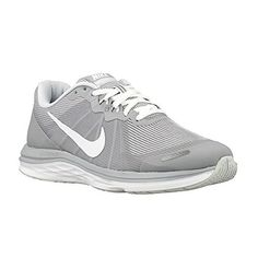 size 40 eec5a 4304b New Nike Women s Dual Fusion X 2 Running Shoe Grey White Cut  halfshoes.  Season  all year. Purpose  running.
