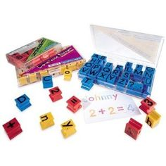 COMPLETE SET!!!! Alphabet and Number Stamps - Alphabet and Numbers