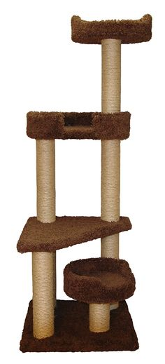 Family Cat Cat Tower with Sky Lookout and Lounger ** New and awesome cat product awaits you, Read it now  : Cat condo