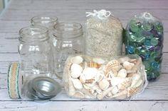 3 Beachy Mason Jar Candle Ideas | Yesterday On Tuesday