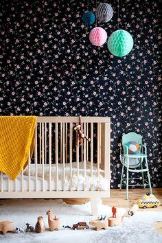 25 Creative and Modern Nursery Design Ideas via Brit + Co