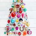 Collectible vintage Christmas ornaments. I am still on the hunt for some of them. How about those string hangers being collectible!!