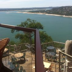 Lake Travis Austin -- view from The Oasis Restaurant