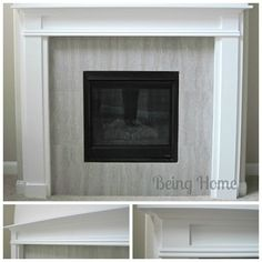 Building a Fireplace Mantel – Tutorial   Being Home Decor – Be Creative. Love Where You Live. Be You.