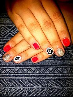 Nails#color#white#shine#