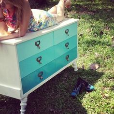 Ombre dresser - I will be recreating this! :)