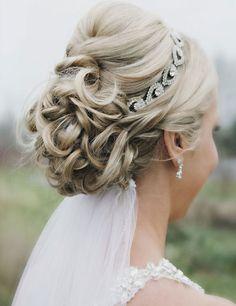 40 Wedding Hairstyles Ideas 2015 #weddinghairstyles2015 #hairstyleideas2015 #wedding2015uk