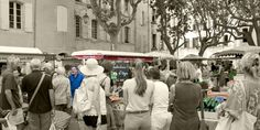 Market #Uzes @Cooknwithclass