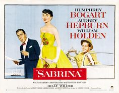 Nueva Cenicienta. Sabrina enamora a dos hermanos bien distintos, pero se queda con el mayor, aunque en la vida real mantuvo un largo idilio con William Holden.