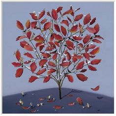 Jenni Murphy - The Autumn Tree - limited edition print