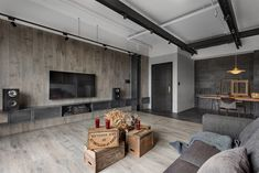 Industrial-Style Home in Taiwan Enhanced by Textural Diversity 2