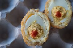 The Ultimate Appetizer: Salt Cod Scotch Deviled Eggs
