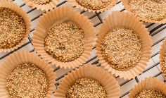 Quinoa Peanut Butter Crunch Cups. I can't wait to try this healthy & interesting taste treat.