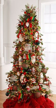 RAZ 2016 Santa's Workshop Christmas Tree  To see more items from this RAZ collection available for purchase at Trendy Tree online, just click here. We're still in the process of adding items that will start arriving Summer 2016. http://www.trendytree.com/raz-christmas-and-halloween-decor/2016-santas-workshop-1.html