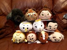 Beauty and the Beast Tsum Tsum Collection!! -HB