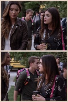 Season 4 of pretty little liars.. What's up with the guy with the floral back pack?!??