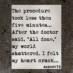 Abortion Quotes Unique This Abortion Story Came To Abort73 Through Our Online Submission . Review