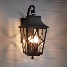 Altimeter 4-Light Candelabra Outdoor Wall Sconce | Signature Hardware