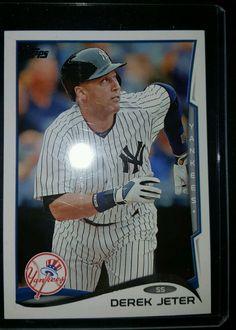 2014 Topps Baseball Derek Jeter #200 New York yankees in Sports Mem, Cards & Fan Shop, Cards, Baseball | eBay