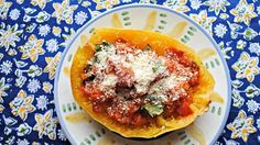 Rachael Rays Spaghetti (minus the squash) with Roasted Tomatoes and Basil sauce Baked Squash, Spaghetti Squash Recipes, Food Website, Roasted Tomatoes, Vegetable Dishes, Food And Drink, Cooking Recipes, Pasta Recipes, Favorite Recipes