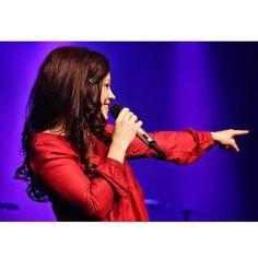 Kari on Stage Kari Jobe, She Song, Role Models, Love Her, Singer, Christian, Concert, Youtube, Beauty