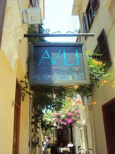 Alley in Rethymno Crete