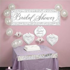 Bridal Shower Decorating 16 Piece Kit by Creative Converting