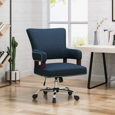 Mccullar Task Chair - Home Office Furniture Home Office Chairs, Office Furniture, Upholstery Cushions, Ergonomic Office Chair, Mid Century House, Traditional House, Credenza, Home Decor, Christopher Knight