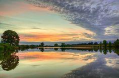 'Evening Reflection' ~ Rural Missouri