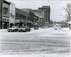 West Market Street, early 1970's, Warren, Ohio by Downtown Warren History, via Flickr