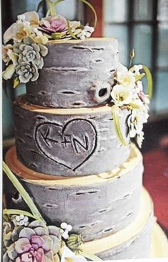 wedding cake that looks like tree bark 1000 images about thumbprint weddings on tree 26249