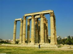 Elena Papa - Google+ - elena papa - Temple of Olympian Zeus Athens Greece -   Good…