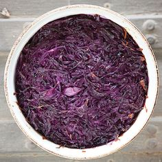 // Sweet and Sour Red Cabbage