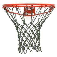 Basketball net for indoor hoops