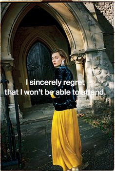 Anna Foster Fashion Stylist - Editorial Overview   Things I Wish I'd Said