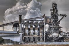 Steel Mill, Oil Refinery, Oil Rig, Iron Steel, Oil And Gas, Photo Reference, Environment, Industrial, Scene